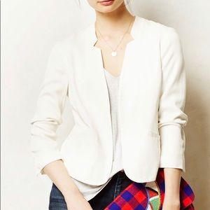 Anthropologie Cartonnier Post Draped Blazer Size 4